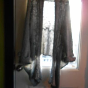 GREY AND CREAM SWEATER CUTE SIZE XL